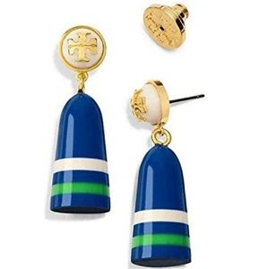 Tory Burch Buoy Drop Earrings